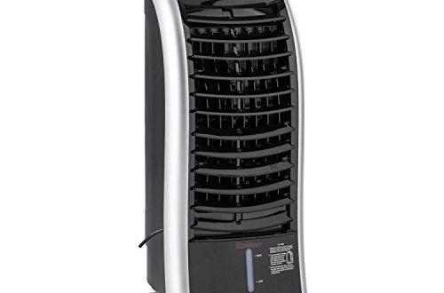 Klarstein Maxfresh BK Ventilator + Luftbefeuchter + Luftkühler (65 Watt, 3 Leistungsstufen, 6 Liter Wassertank, 3 Modi: Normal, Nacht, Natur, Schwenkfunktion, Timer, Fernbedienung) schwarz